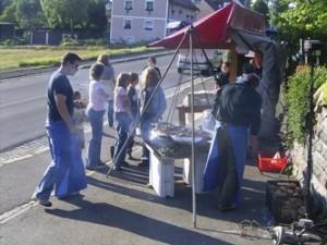 Am Samstag findet wieder das Kellerfest neben dem Mehrzwecksaal statt.