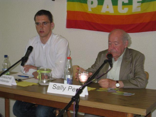 Christian Doleschal und Sally Perel
